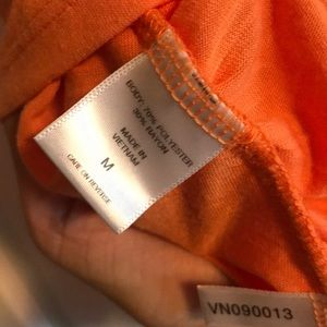 New York & Company Tops - New York & Co orange v neck top